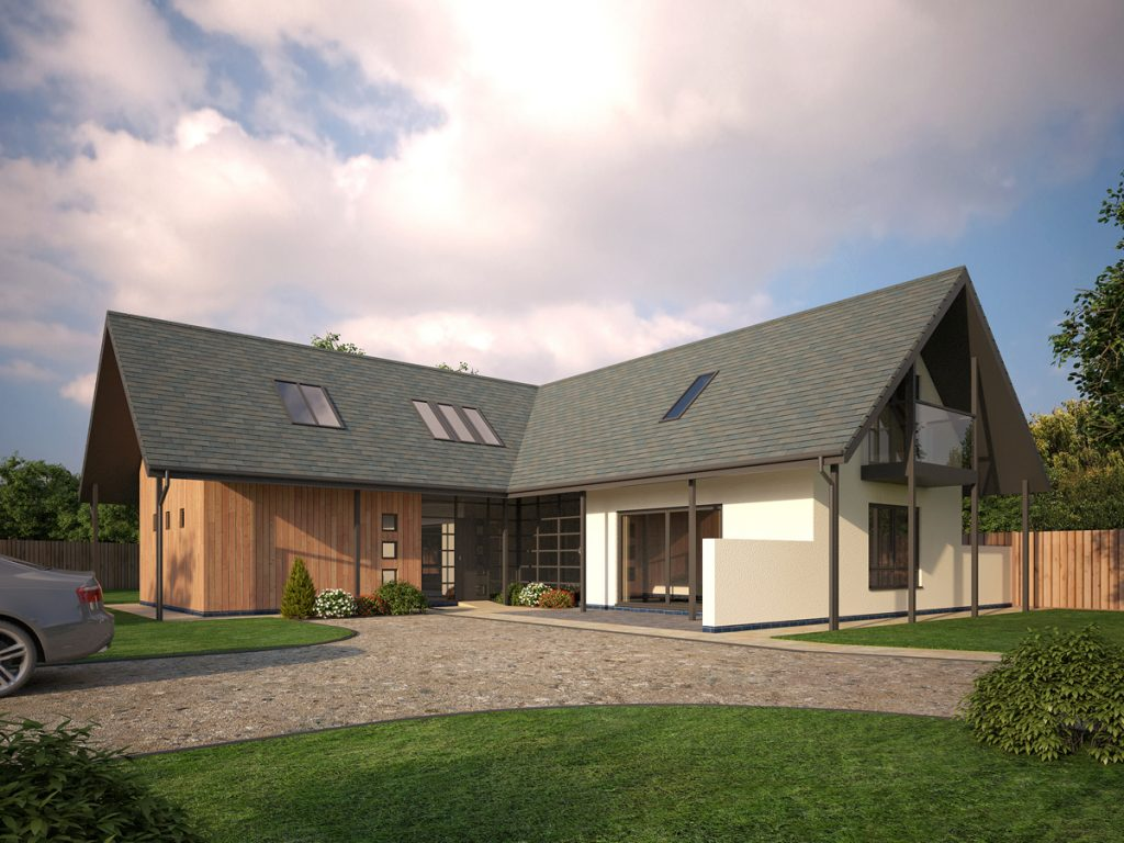Exterior cgi architectural visualisation 3d visualisation - Quality home exteriors ...